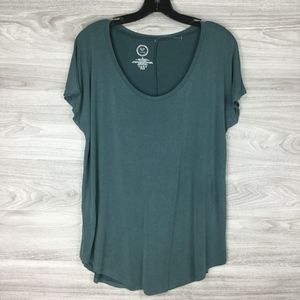 Maurice Green Short Sleeve Boat Neck Tee